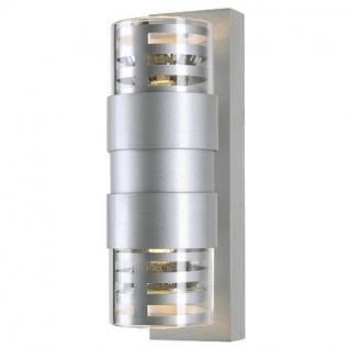 Wandleuchte Aluminium/ Glas - Vorschau 2
