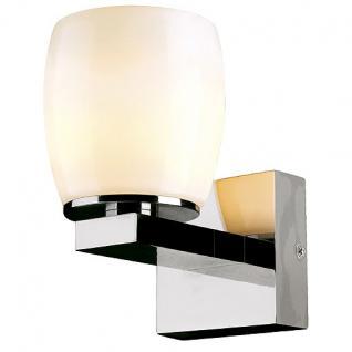Wandleuchte Aluminium/ Keramik
