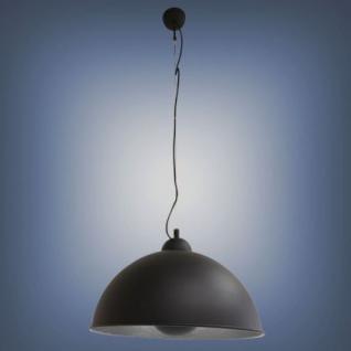 Pendelleuchter Lifestyle, elgegante Leuchte, Farbe schwarz-silber - Vorschau