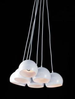 Pendelleuchte in weiß Perlen - Vorschau 1