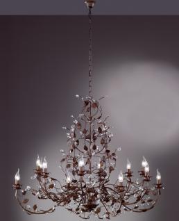 Design Kronleuchte, antik, Glas, Durchmesser 130cm