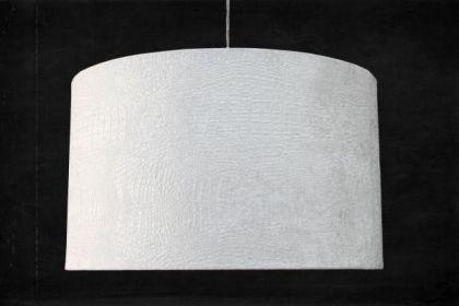 Pendelleuchte Kunststoff weiß modern