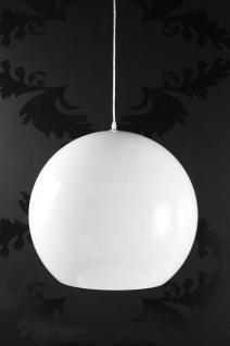 Pendelleuchte Polyacryl weiß / bunt modern