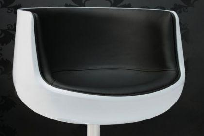 Design Sessel Combo modern in weiß / schwarz - Vorschau 2