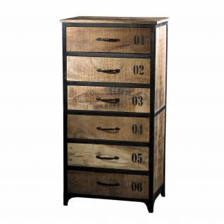 wandkonsole tv lowboard aus massivholz im industriedesign. Black Bedroom Furniture Sets. Home Design Ideas