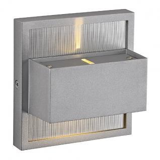 LED Wandleuchte Aluminium - Vorschau 1
