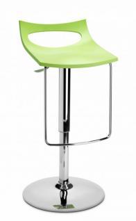 Design Barhocker hellgrün modern Höhe verstellbar
