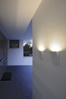 LED Wandleuchte Aluminium/Glas silbergrau LED 3000K - Vorschau 2