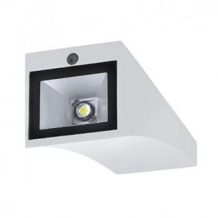 LED Wandleuchte Aluminium/Glas weiß (LED 6000K) - Vorschau 3