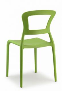 design stuhl kunststoff gr n modern outdoor geeignet kaufen bei richhomeshop. Black Bedroom Furniture Sets. Home Design Ideas