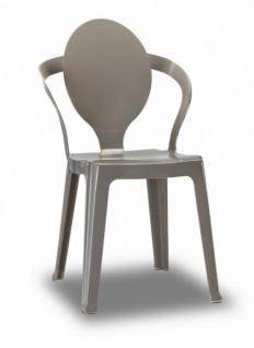 Design Stuhl style modern taubengrau