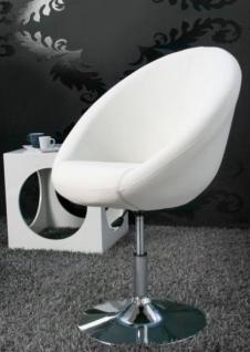 Design Sessel modern in weiß - Vorschau 1