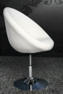 Design Sessel modern in weiß - Vorschau 4