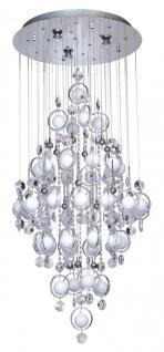 pendelleuchte chrom kristall g nstig online kaufen yatego. Black Bedroom Furniture Sets. Home Design Ideas