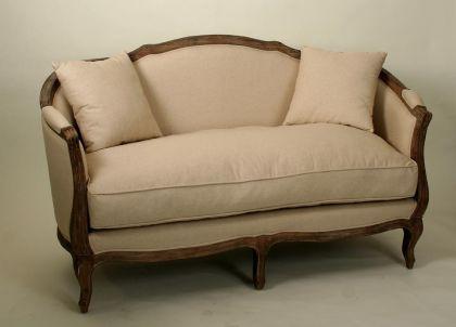 Sofa im landhausstil online bestellen bei yatego - Couch landhausstil ...