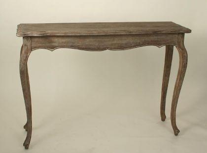 Wandtisch im Landhausstil, Eiche alt