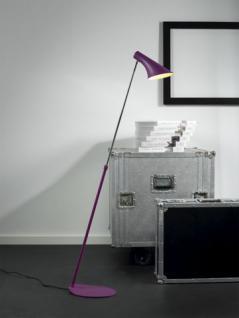 Steh-/ Leseleuchte Metall violett - Vorschau