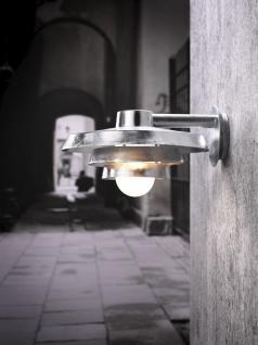 Wandleuchte Metall verzinkt Glas Outdoor 15 Jahre Anti-Rost-Garantie - Vorschau 1