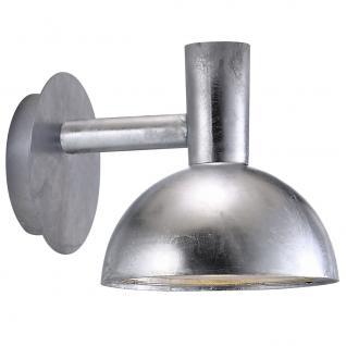 Wandleuchte Metall verzinkt PVC Outdoor 15 Jahre Anti-Rost-Garantie - Vorschau 2