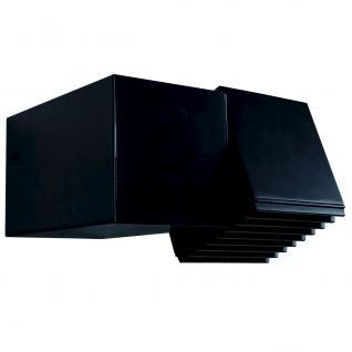 Wandleuchte Aluminium schwarz Outdoor Energiesparer - Vorschau 2