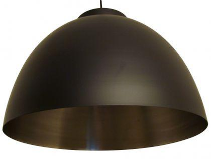 Moderne Pendelleuchte, Farbe schwarz-silber