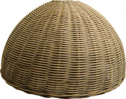 Lampenschirm aus Rattan für eine Hängeleuchte im Landhausstil 52 cm - Vorschau 1