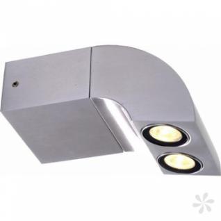 Wandleuchte aus Aluminium, LED, IP-Schutzklasse