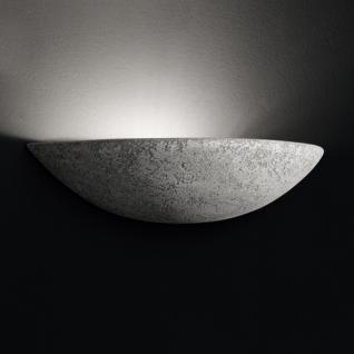 Design Wandleuchte, Keramik/grau, Breite 34 cm - Vorschau