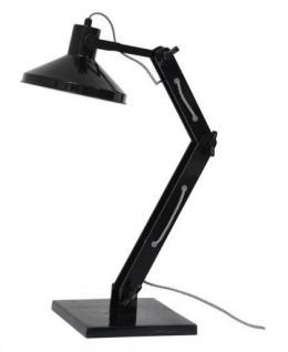 Design Tischleuchte, Tischlampe, Farbe schwarz mit verstellbaren Arm - Vorschau 1