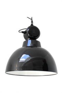 Pendelleuchte Fabrikart, Industriedesign Lampe, Farbe schwarz - Vorschau 1