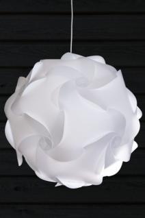 Design Pendelleuchte in weiß