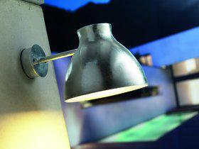 Wandleuchte Metall verzinkt PVC Outdoor 15 Jahre Anti-Rost-Garantie