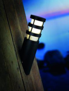 Wandleuchte Metall schwarz PVC Outdoor - Vorschau 2
