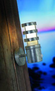 Wandleuchte Metall verzinkt PVC Outdoor Bewegungssensor 15 Jahre Anti-Rost-Garantie