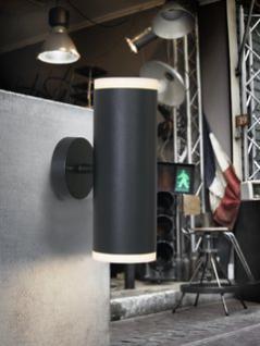 Wandleuchte Aluminium schwarz PVC Outdoor - Vorschau 1