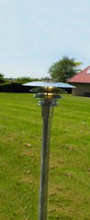 Stehleuchte Metall verzinkt PVC Outdoor 15 Jahre Anti-Rost-Garantie Energiesparer - Vorschau 1