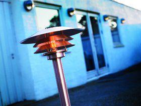 Stehleuchte Metall kupfer PVC Outdoor 15 Jahre Anti-Rost-Garantie - Vorschau 1