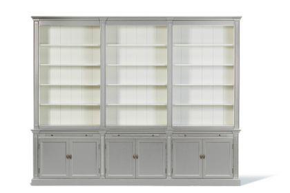 Bücherschrank im Landhausstil in drei Größen und vier Farben - Vorschau 1