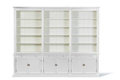 Bücherschrank im Landhausstil in drei Größen und vier Farben - Vorschau 4