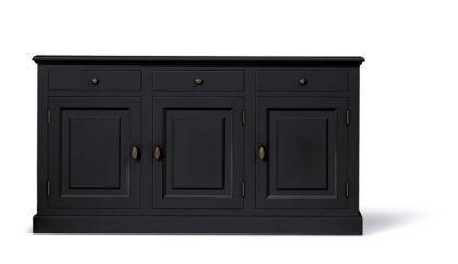Klassische Anrichte, Sideboard im Landhausstil in vier Farben