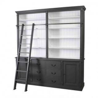 Bücher- Wohnzimmerschrank, Massivholz in vierzehn weiteren Farben - Vorschau