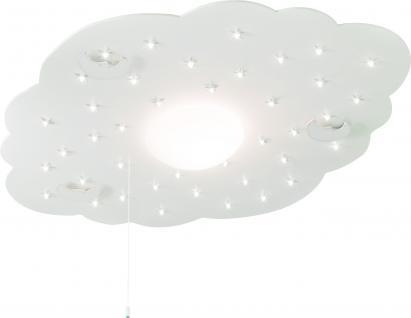 Kinder Deckenleuchte, LED, weiß, Wolke