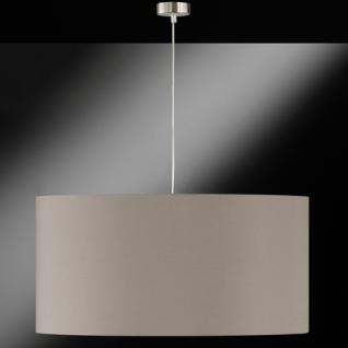 Design Pendelleuchte, cappucino, Ø 70 cm