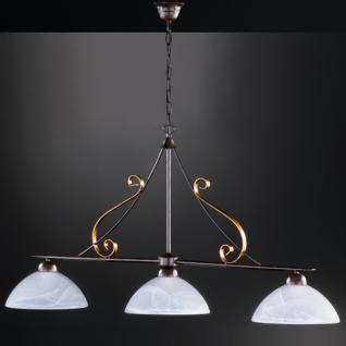 Design Pendelleuchte, goldfarbig, Ø 25 cm