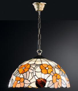 Design Pendelleuchte, Tiffany, echte Handarbeit, Ø 39 cm - Vorschau