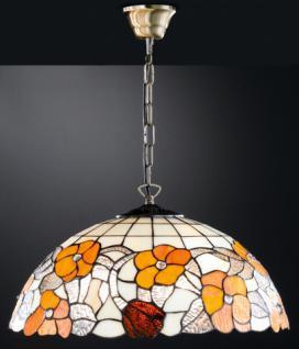 Design Pendelleuchte, Tiffany, echte Handarbeit, Ø 48 cm - Vorschau