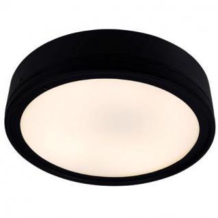 Outdoorleuchte Metall schwarz weiß Ø 30 cm - Vorschau