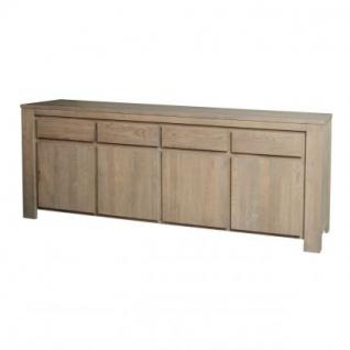 sideboard anrichte im landhausstil aus massive eiche. Black Bedroom Furniture Sets. Home Design Ideas