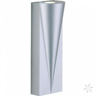 Outdoorleuchte Alu Druckguß, matt-silber, LED