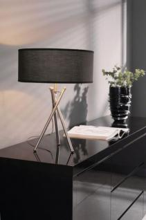 stehleuchte moderne stehlampe mit einem schwarzen lampenschirm h he 173 cm kaufen bei. Black Bedroom Furniture Sets. Home Design Ideas